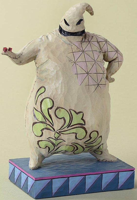 Jim Shore Disney 4027940 Roll the Dice Figurine