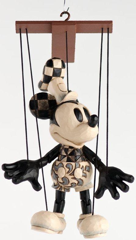 Jim Shore Disney 4031309 Steamboat Willie Marionette Figurine