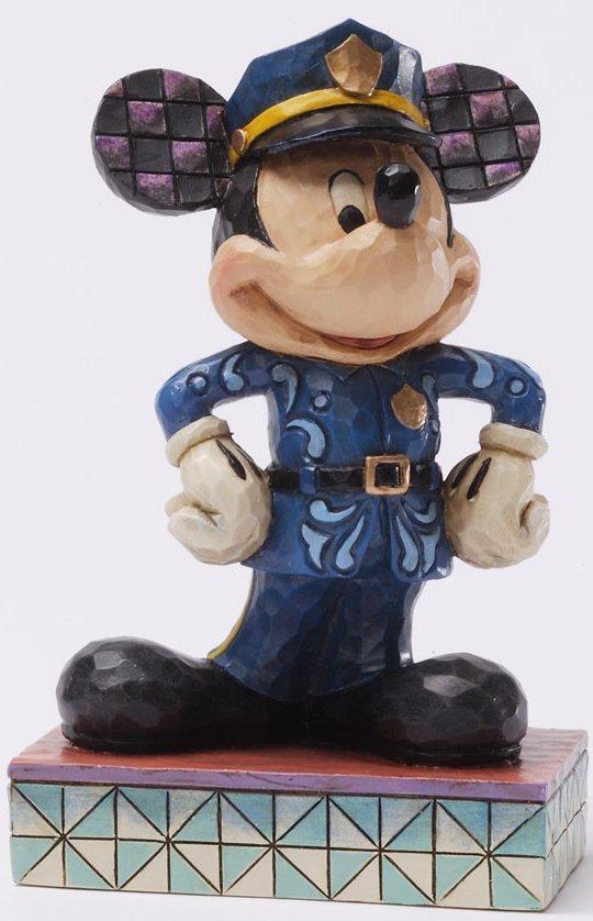 Jim Shore Disney 4031469 Officer Friendly Figurine