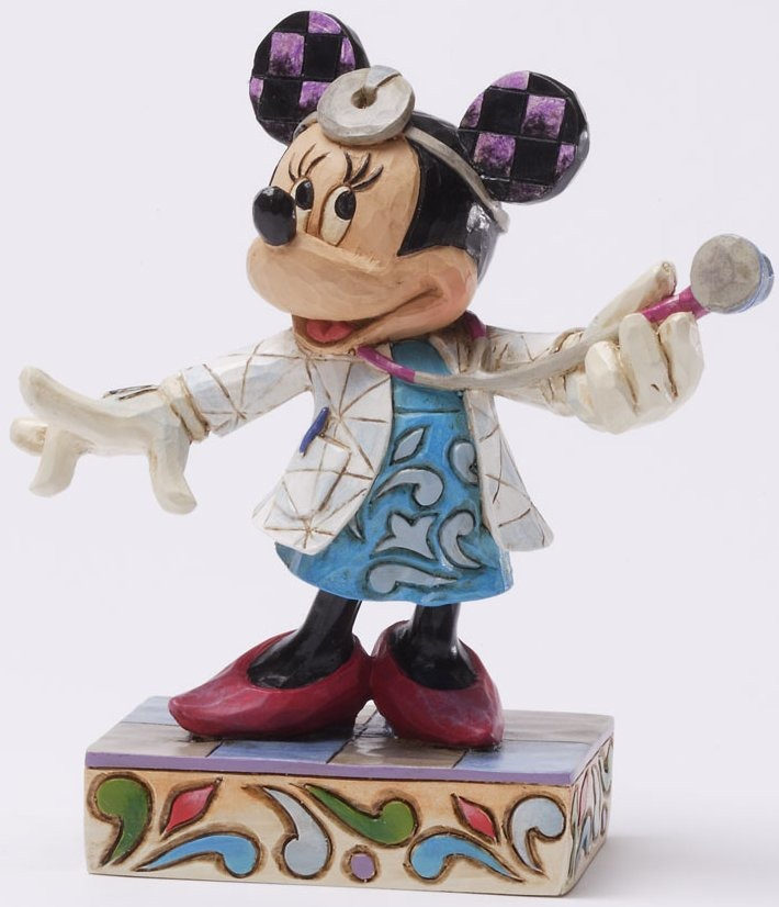 Jim Shore Disney 4031473 To Your Health Figurine