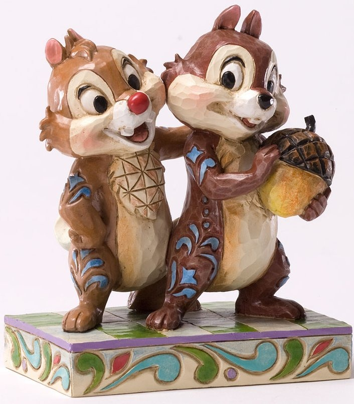 Disney Traditions by Jim Shore 4031475 Nutty Buddies Figurine