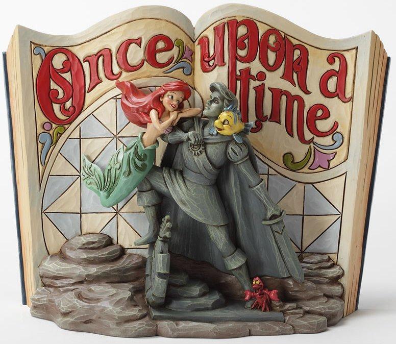 Jim Shore Disney 4031484 Storybook Little Mermaid