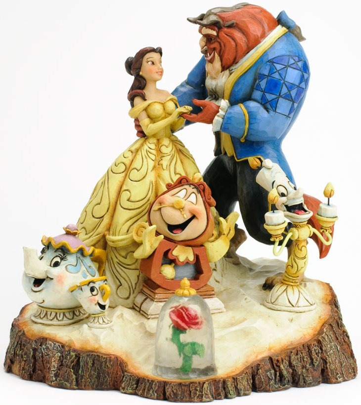 Disney Traditions by Jim Shore 4031487 Tale As Old As Time Figurine