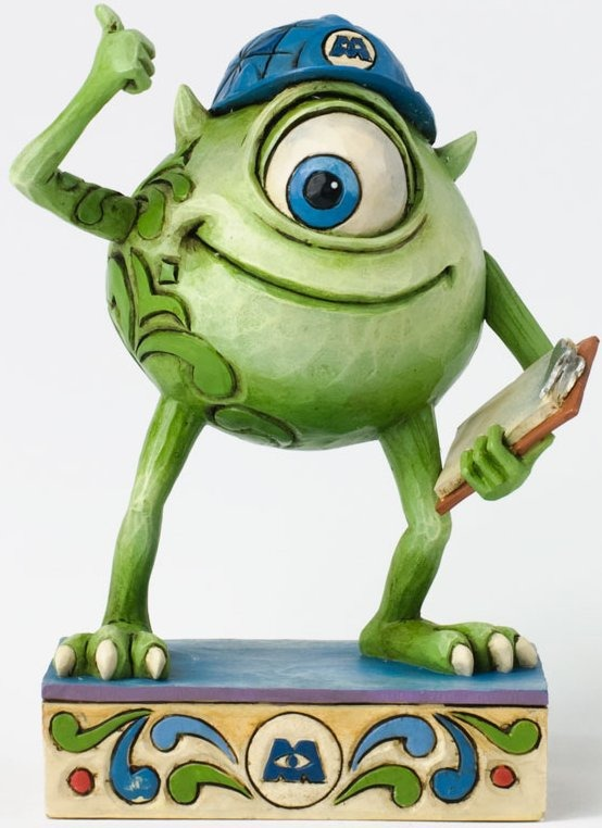 Jim Shore Disney 4031488 Good Morning Monstropolis Figurine