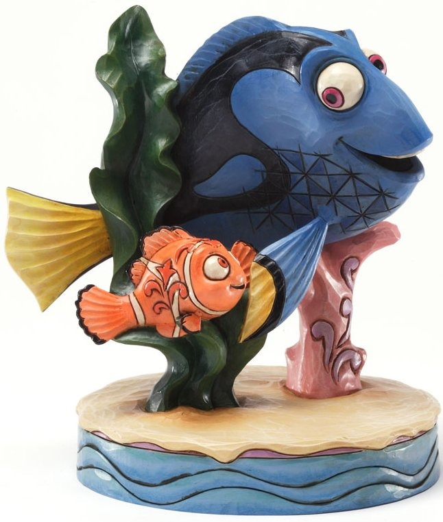 Jim Shore Disney 4031492 Floating Friendship Figurine