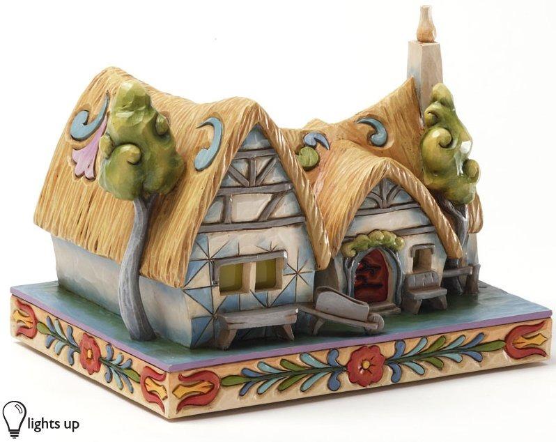 Jim Shore Disney 4031495 Enchanted Cottage Lighted Figurine