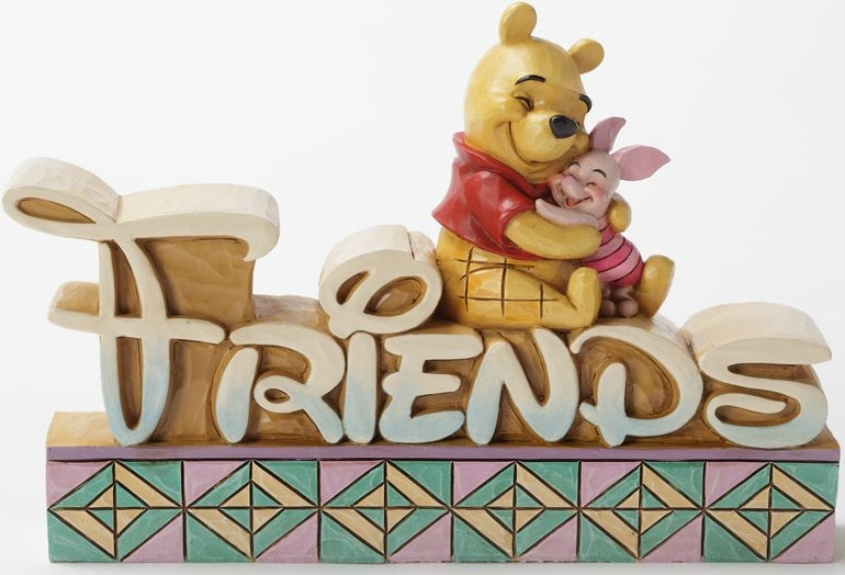 Jim Shore Disney 4032890 Pooh & Piglet Friends