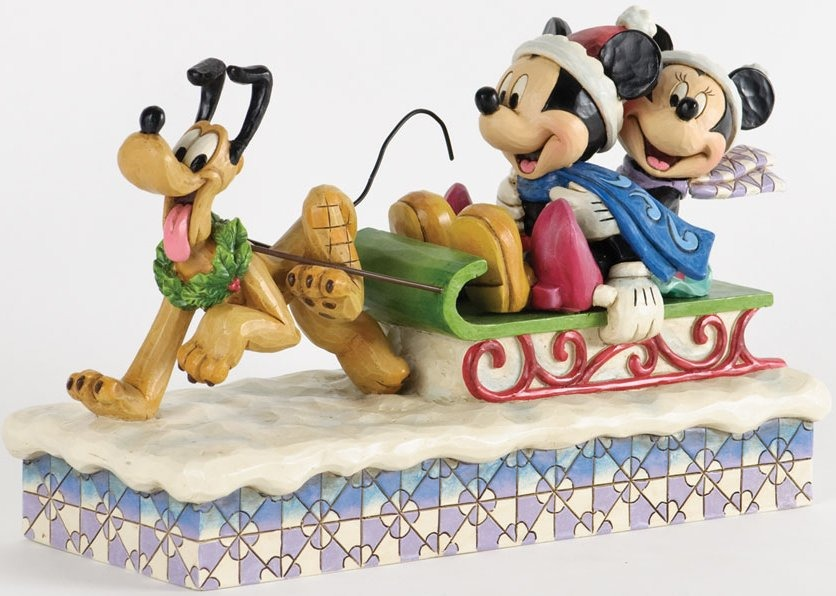 Jim Shore Disney 4033264 Mickey Minnie and Pluto