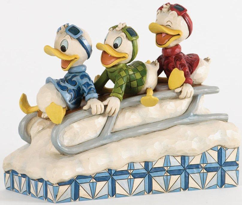 Jim Shore Disney 4033270 Huey Dewey & Louie