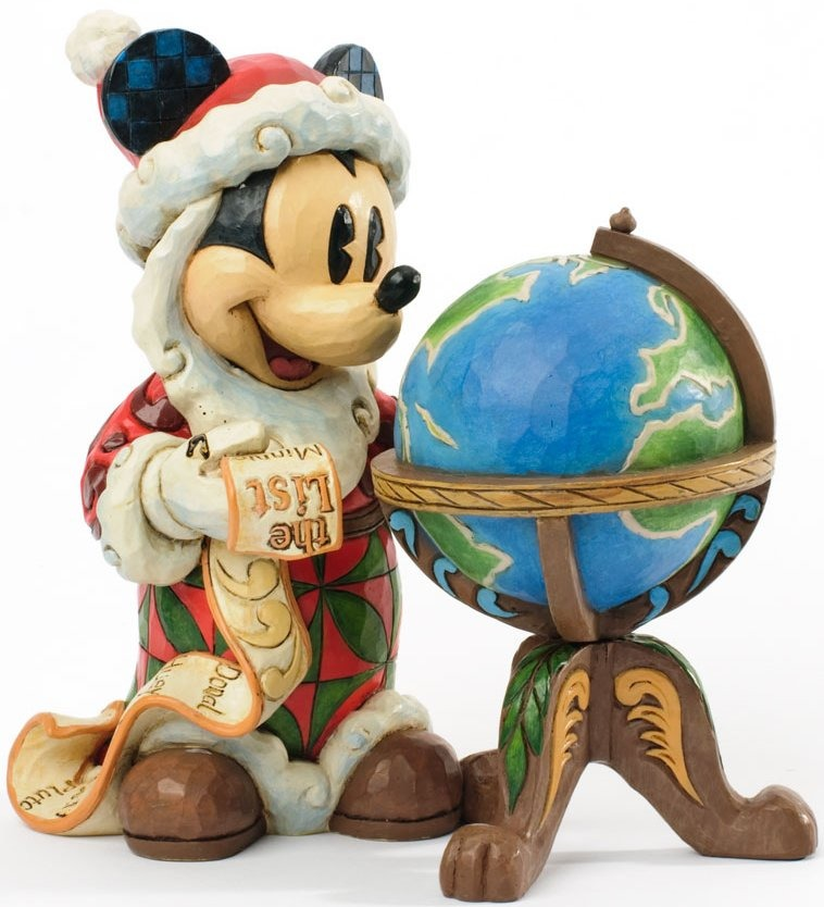 Jim Shore Disney 4033271 St Mick with Globe