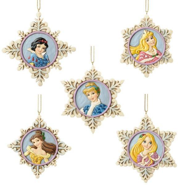 Jim Shore Disney 4033273 Snow Flakes Princess Orn