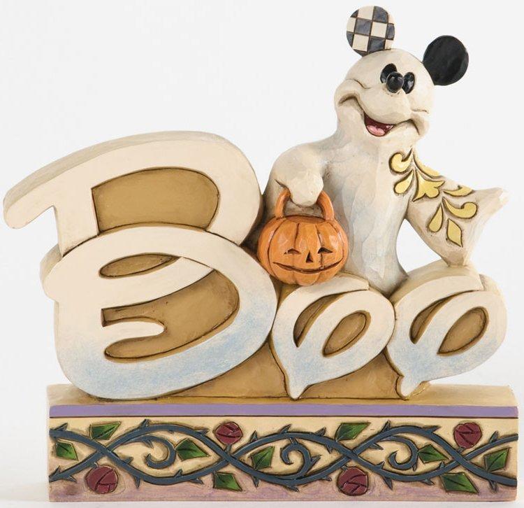 Jim Shore Disney 4033276 Ghost Mickey Boo Word