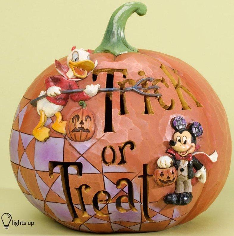 Jim Shore Disney 4033277 Pumpkin Trick or Treat