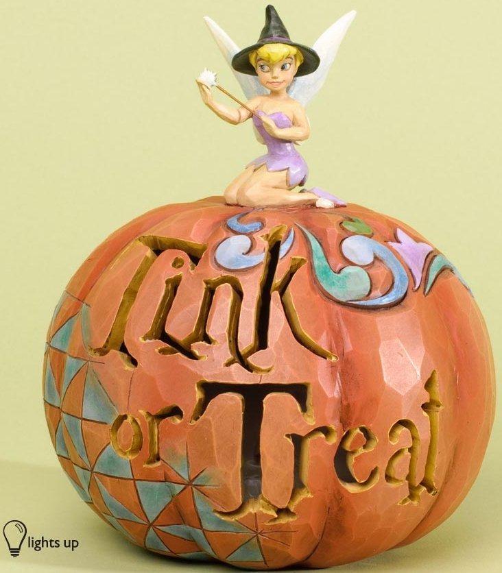 Jim Shore Disney 4033278 Pumpkin TINK or Treat