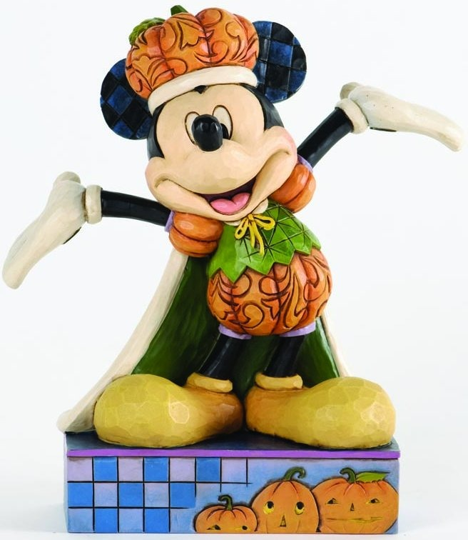 Jim Shore Disney 4033279 Mickey Pumpkin King