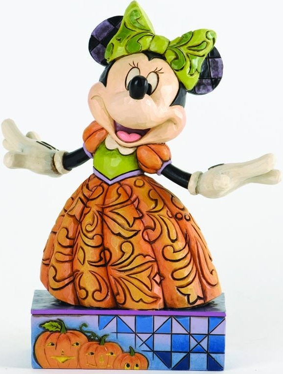 Jim Shore Disney 4033280 Minnie Pumpkin Queen