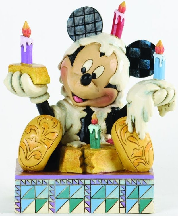 Jim Shore Disney 4033281 Mickey with Birthday Cake