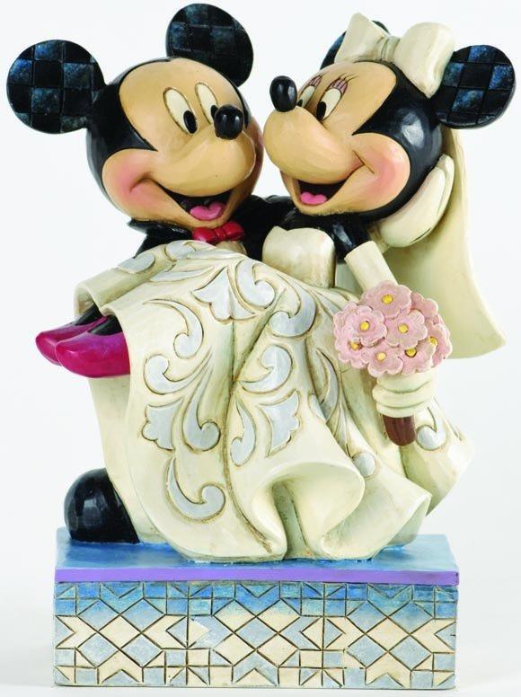 Jim Shore Disney 4033282 Mickey and Minnie Wedding