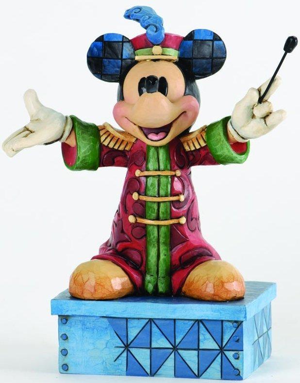 Jim Shore Disney 4033284 Band Leader Mickey