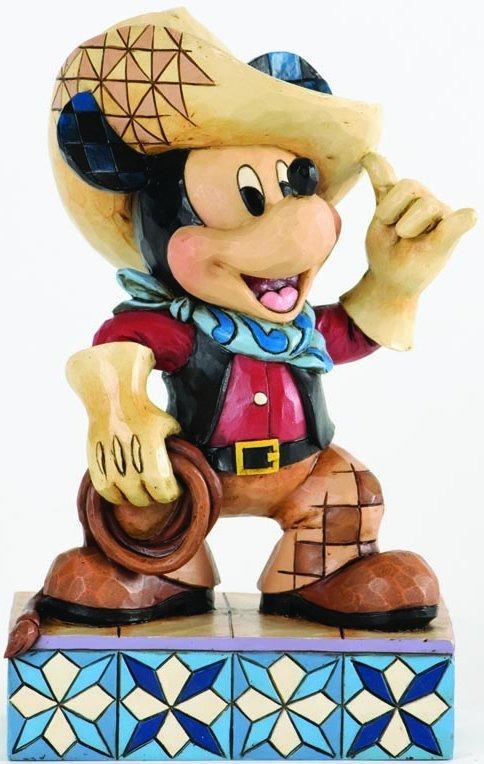 Disney Traditions by Jim Shore 4033286 Cowboy Mickey