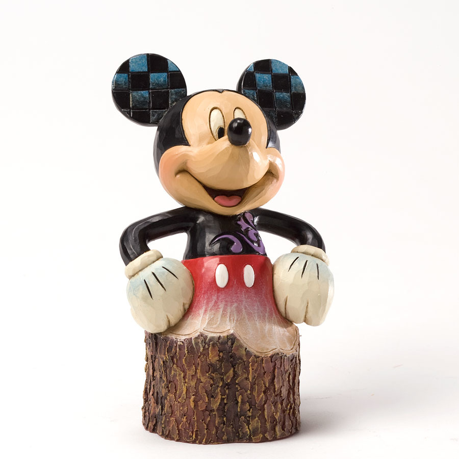 Jim Shore Disney 4033288 Mickey Carved by Heart