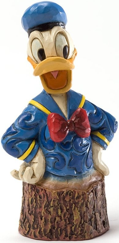 Disney Traditions by Jim Shore 4033291 Donald Carved by Heart