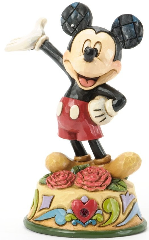 Jim Shore Disney 4033958 Mickey January