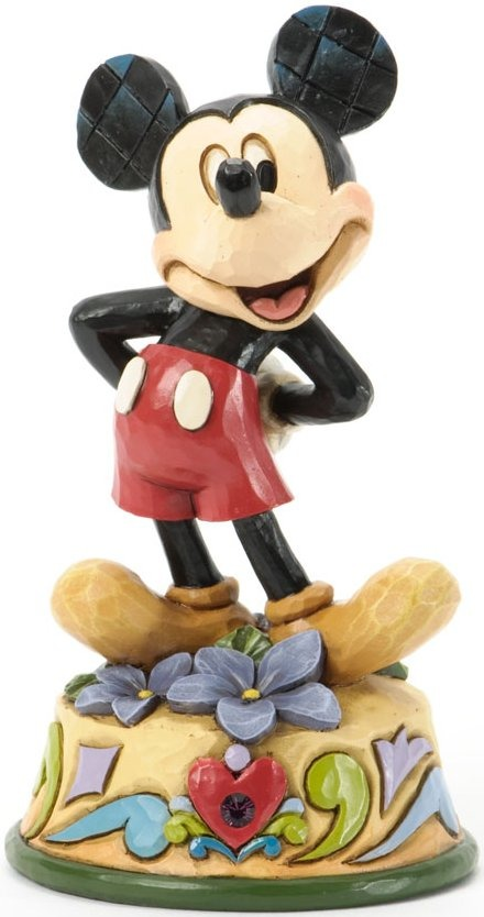Jim Shore Disney 4033959 Mickey February