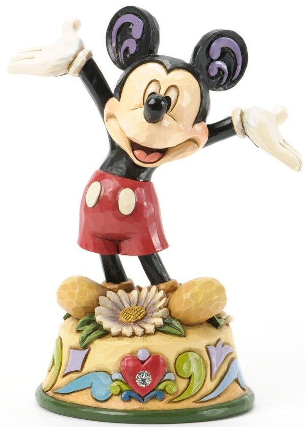 Jim Shore Disney 4033961 Mickey April