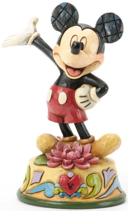 Jim Shore Disney 4033964 Mickey July