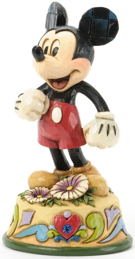 Jim Shore Disney 4033966 Mickey September