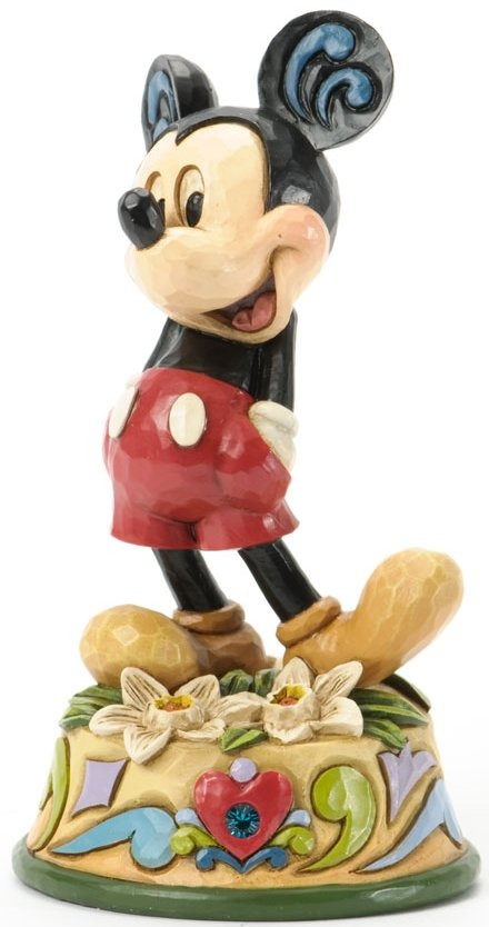 Jim Shore Disney 4033969 Mickey December