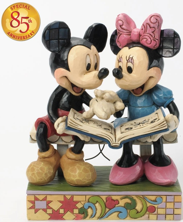 Jim Shore Disney 4037500 Mickey and Minnie 85th Anniversary