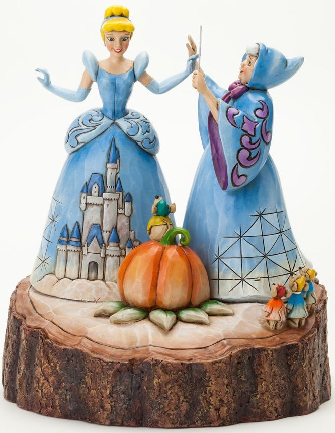 Disney Traditions by Jim Shore 4037503 Cinderella Carved