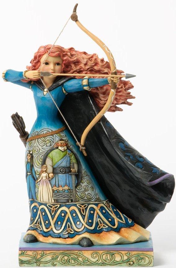 Jim Shore Disney 4037504 Princess Merida