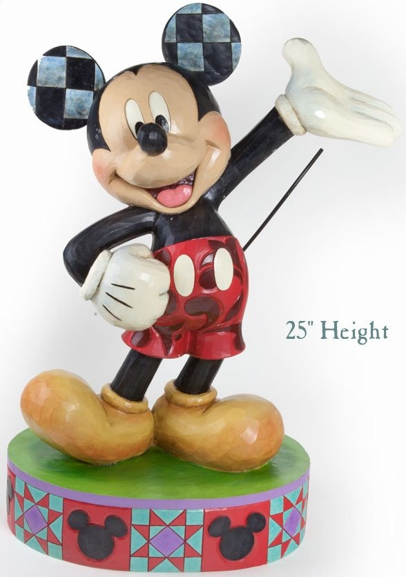 Disney Traditions by Jim Shore 4037509 Big Figurine Mickey