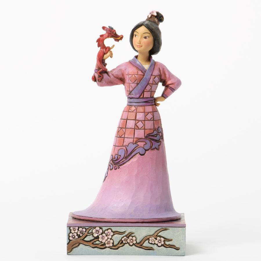 Jim Shore Disney 4037510 Mulan and Mushu