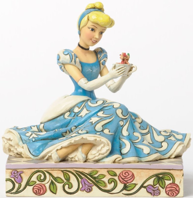 Disney Traditions by Jim Shore 4037511 Cinderella and Jaq and Gus