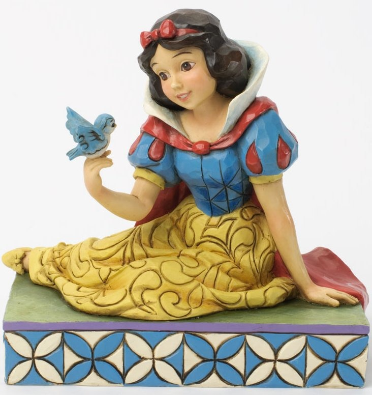 Jim Shore Disney 4037512 Snow White and Bird