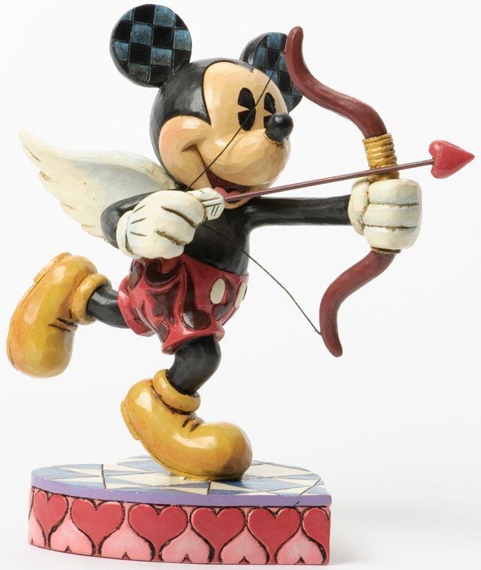 Jim Shore Disney 4037518 Cupid Mickey Fig
