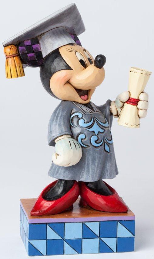 Jim Shore Disney 4038488 Graduation Minnie