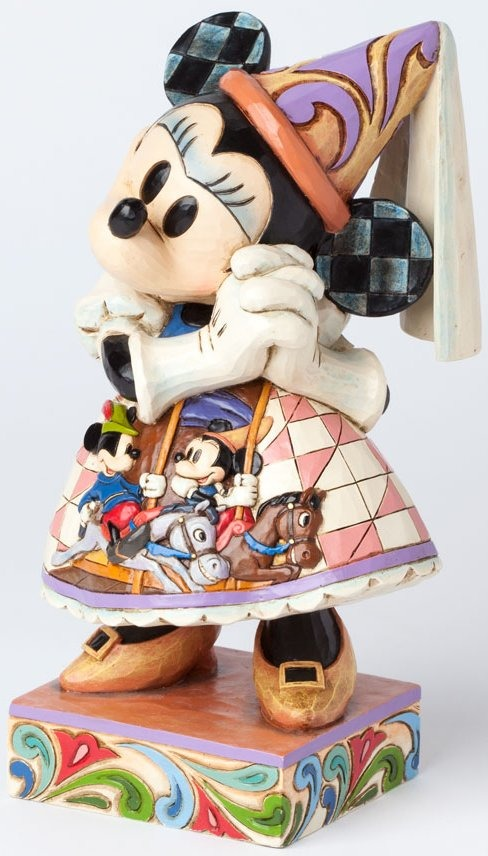 Jim Shore Disney 4038497 Princess Minnie Royal