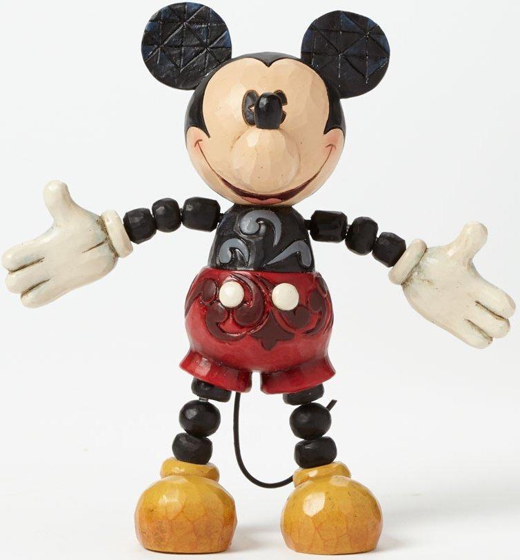 Jim Shore Disney 4039070 Poseable Mickey