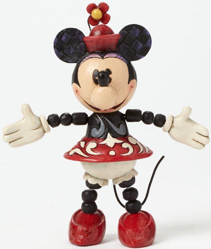 Jim Shore Disney 4039071 Poseable Minnie
