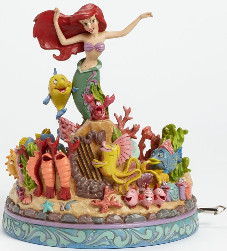 Jim Shore Disney 4039073 Mermaid Musical