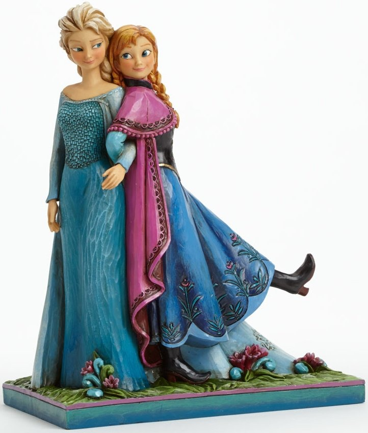 Disney Traditions by Jim Shore 4039079 Frozen Elsa and Anna