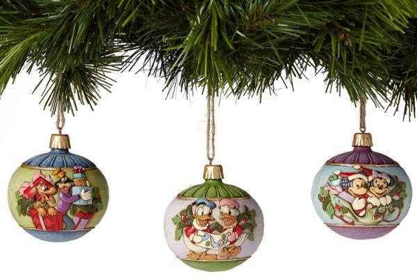 Jim Shore Disney 4039087 Ball Ornaments