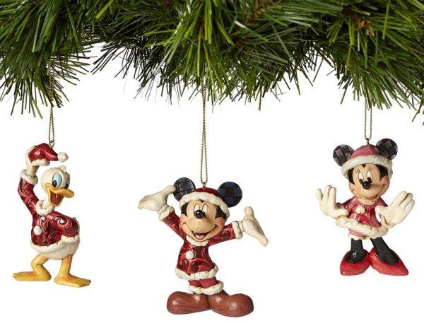 Jim Shore Disney 4039088 Santa Mickey Mrs. Claus