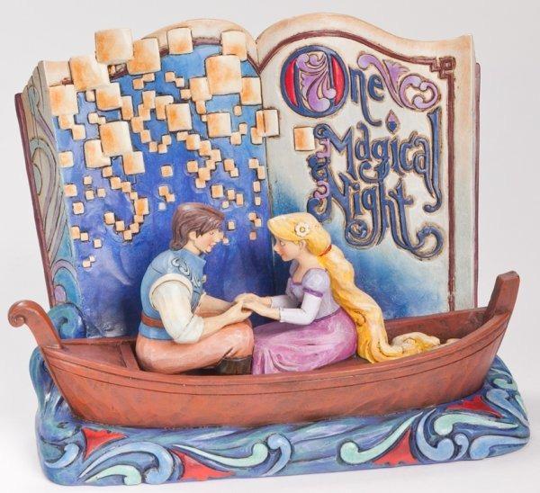Jim Shore Disney 4043625 Rapunzel Story Book