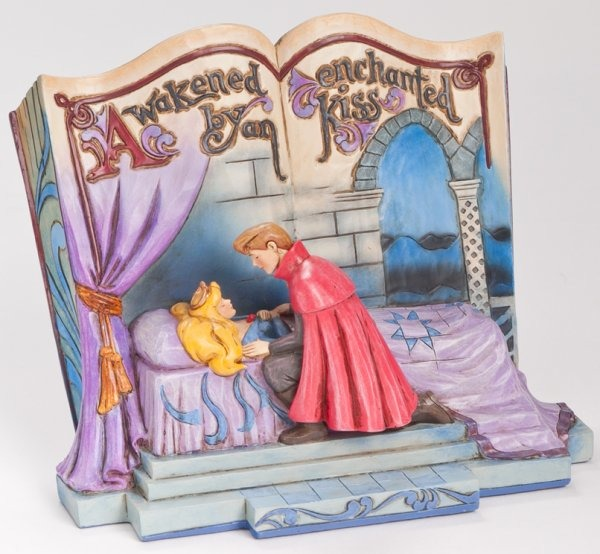 Jim Shore Disney 4043627 Sleeping Beauty Story Book
